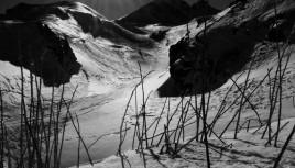 Photo noir et blanc Les Arcs 2000 - Alpes