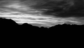 Photo noir et blanc Les Arcs 1800, Savoie