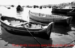 Barques de pêcheurs de Marsaklox, Malte - été 2008