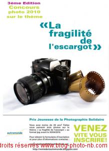 Concours de la photographie solidaire 2010
