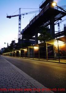 Le quartier des confluences encore en construction - Lyon 1er