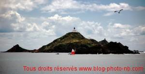 Corse, l'archipel des iles Sanguinaires