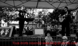 Dadi et Charlie à la fête de la musique - Lyon Croix Rousse
