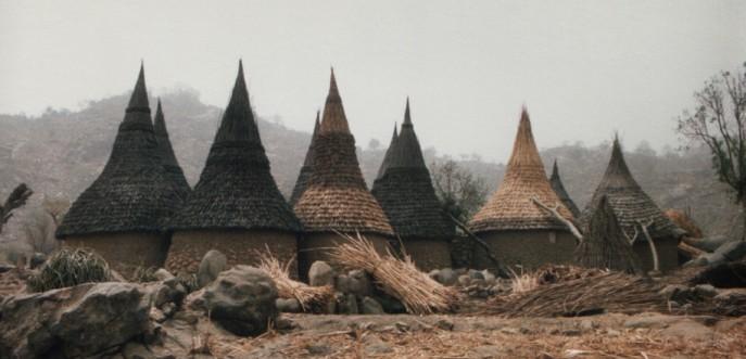 Photo couleur du village de Djinglia - nord ouest du Cameroun
