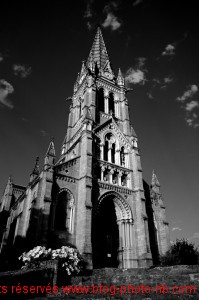L'église de Saint Cyr au Mont d'Or, environs de Lyon - été 2009