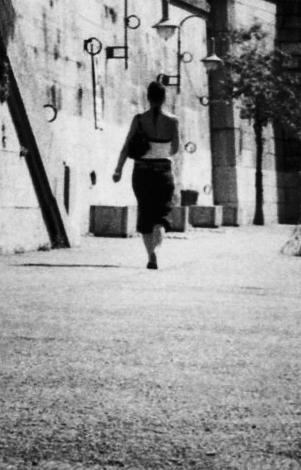 Photo noir et blanc des quais de Saône - Lyon