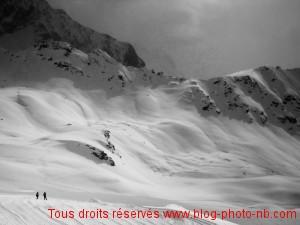 Les Arcs 2000 - Col de la Chal (2600 mètres), Savoie.