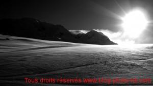 Les Arcs sous le soleil du mois de mars - Savoie / Vallée de la Tarentaise
