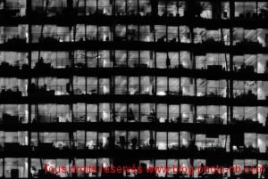 Little boxes : immeuble de verre et d'acier à Londres