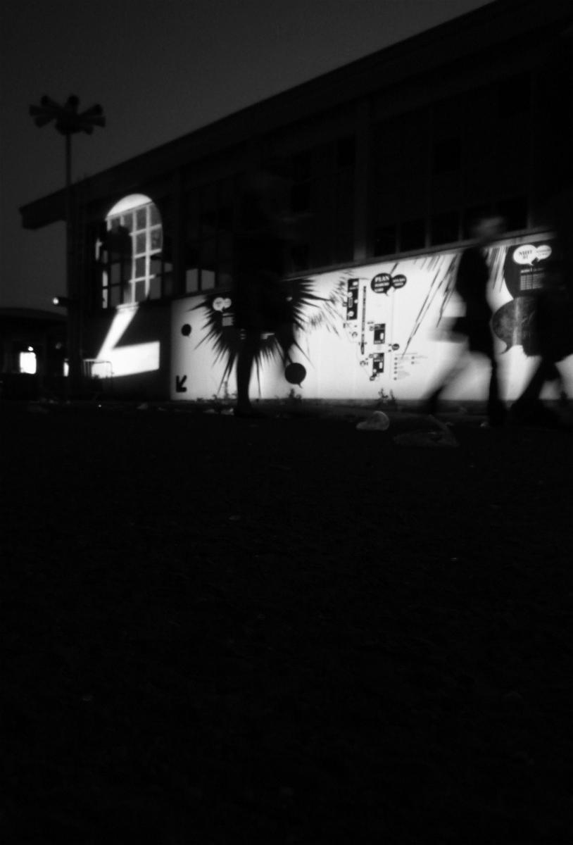 Photo noir et blanc Cut Chemist aux Nuits Sonores, Lyon