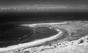 L'océan Atlantique entre Agadir et Essaouira - sud du Maroc