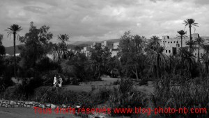 Les casbahs de Ouarzazte et son oasis - désert du Maroc