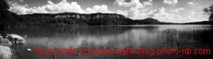 Panoramique du lac d'Ilay - Jura