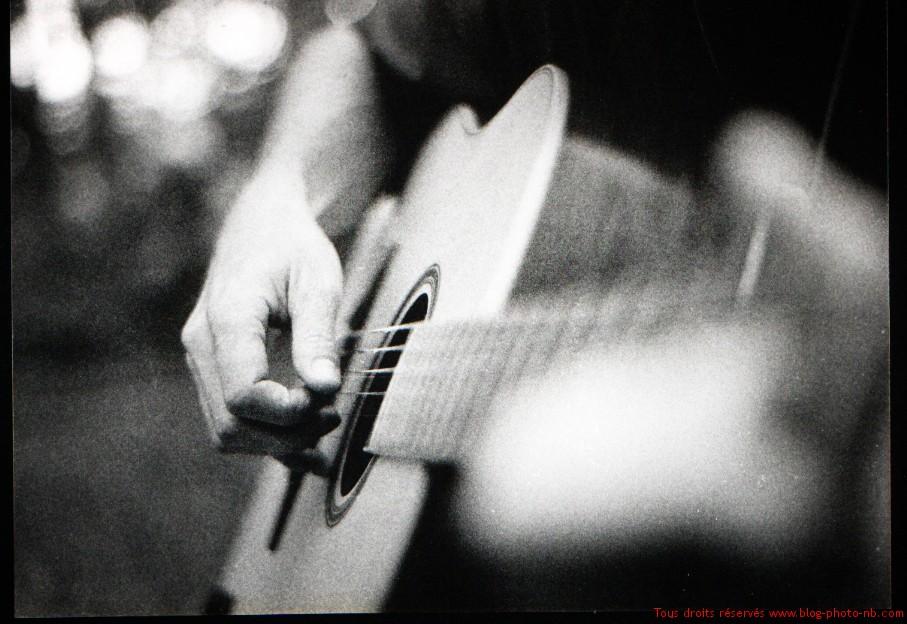 guitariste solitaire isle sur la sorgue juillet 2008 photos noir et blanc. Black Bedroom Furniture Sets. Home Design Ideas