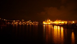 Photo de Prague by night et du Pont Charles