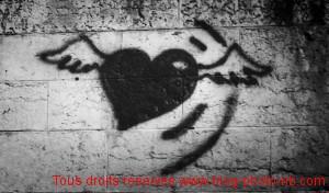 Physical graphitti, tag sur les quais de Saône - Lyon